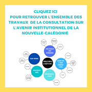 Contributions à la consultation de la société civile sur l'avenir institutionnel