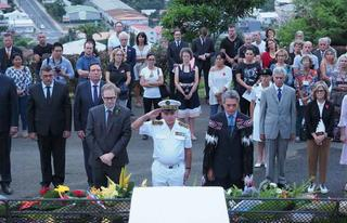 25 avril Commémoration de l'Anzac-Day à Nouméa