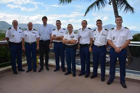 8 Août   Arrivée Des Nouveaux Escadrons De Gendarmerie