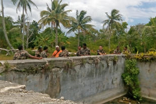 Chantier d'application RSMA-NC à Lifou