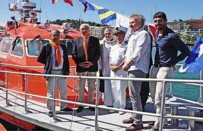 66f8ea770705 Une nouvelle vedette pour la Société Nationale de Sauvetage en Mer de Nouméa