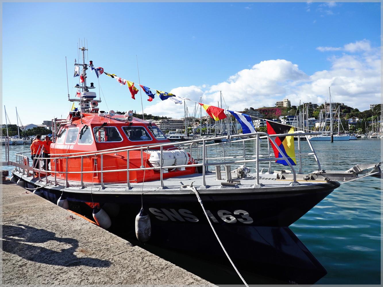 bfbf7769ac26 Une nouvelle vedette pour la Société Nationale de Sauvetage en Mer ...
